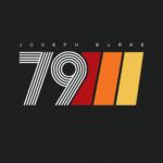 Joseph Burke EST 1979 Retro Design