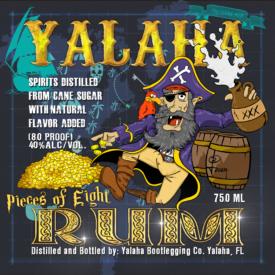 "Yalaha Bootlegging ""Pieces of Eight Rum"""